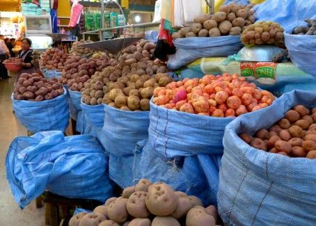 You say potato, I say potahto: Cultivar diversity on display in a Bolivian market