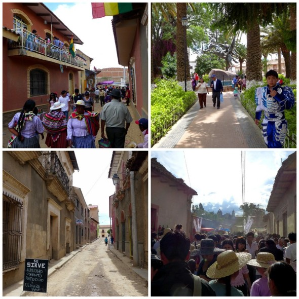 The quaint streets of Tarata fill with celebrants for the San Severino festival