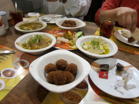 Traditional Jordanian Dinner