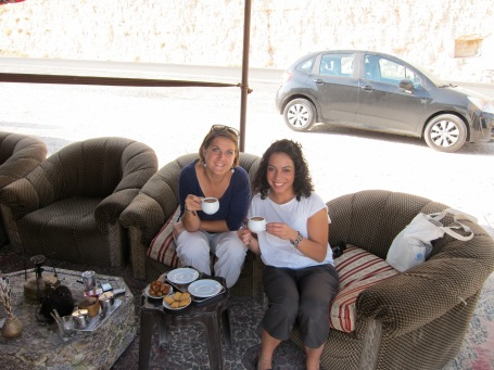 Coffee in a bedouin tent
