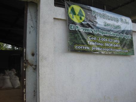 the community centre in El Porvenir