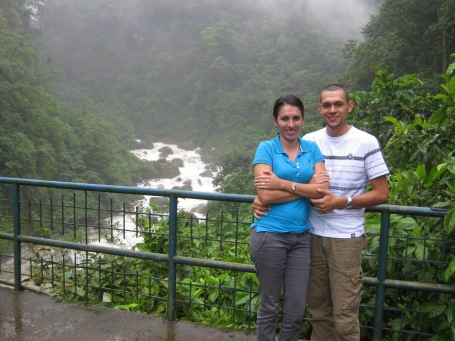 Alejandra and Bryan (and their wonderful families in Pital)