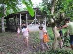 the community centre in Villa Nueva