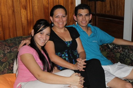 Rosi and her family