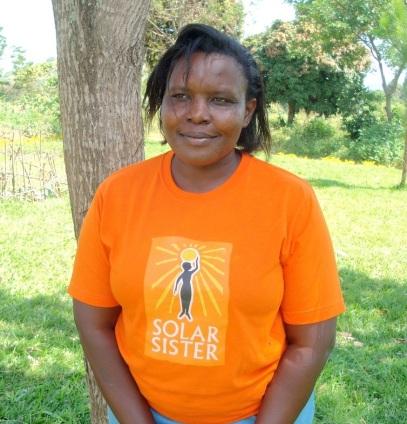 Florence, Solar Sister Entrepreneur