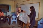 Explaining Kiva Zip to the borrowers