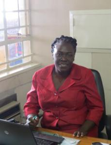 Pamhi at the office where she oversees MicroKing's Kiva partnership