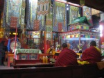 inside Gandan Monastery