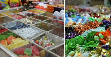 Mongolians love candy!