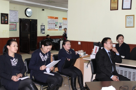 training the loan officers